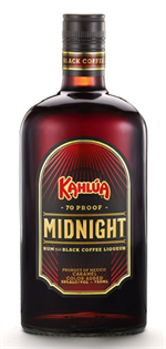 Kahlua Liqueur Midnight 1.00l